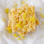 Lemonade Rice Krispies Treats