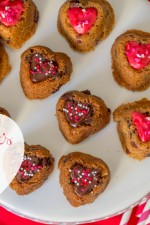 Valentine's Chocolate Chip Cookies