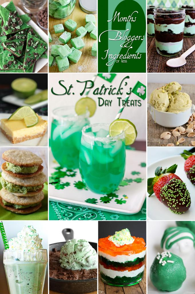 12 St. Patrick's Day Treats #12bloggers