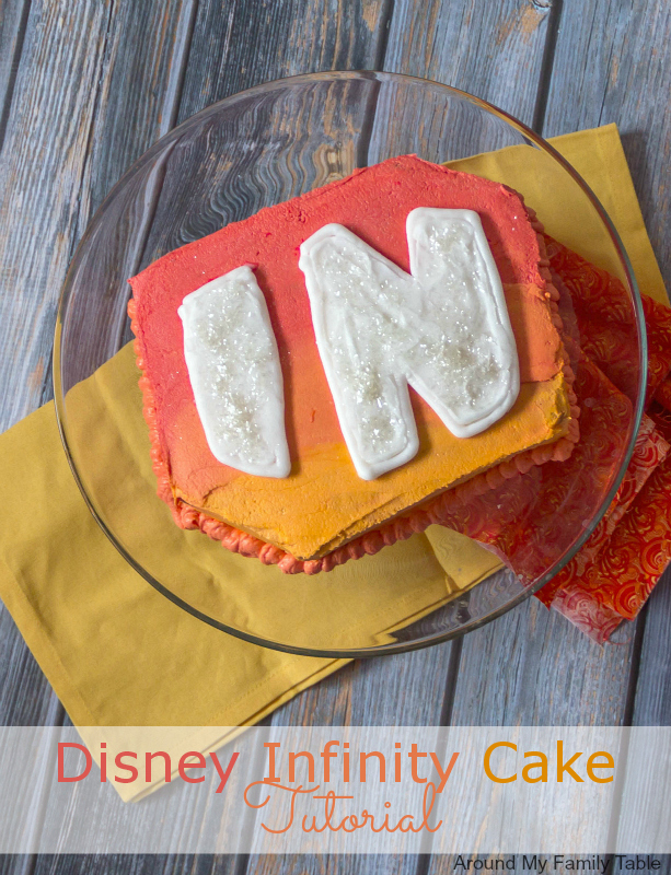 Disney Infinity Cake Tutorial