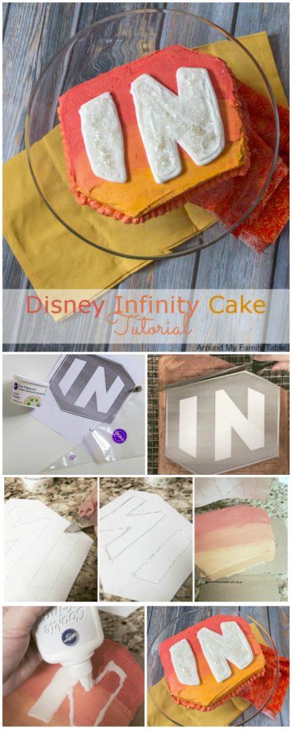 Disney Infinity Cake Decorating Tutorial - If you are having a Disney Infinity party, this Disney Infinity Cake Tutorial will help give your party a bit of Disney Magic. Cake decorating made easy!