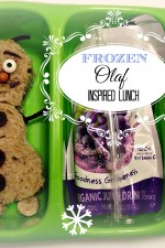 Olaf Inspired Lunch