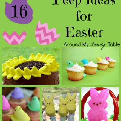 Give Peeps a Chance! 16 Peep Ideas for Easter
