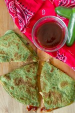 Hawaiian BBQ Chicken Quesadillas #15MinuteSuppers