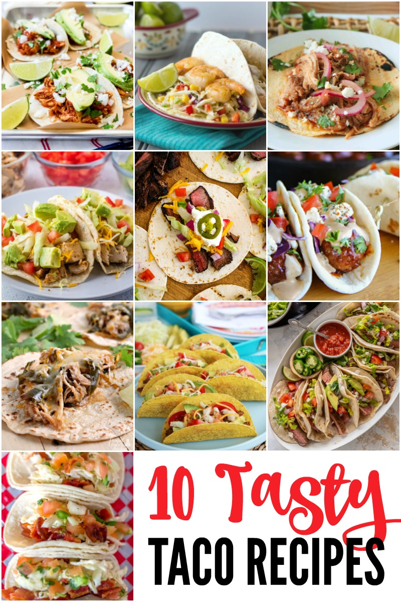 10 images of tacos