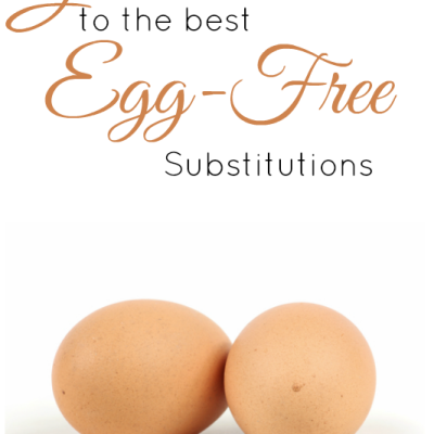Egg Free Substitutions