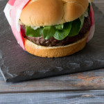 Green Chile Stuffed Burgers