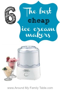 cheap ice cream makers