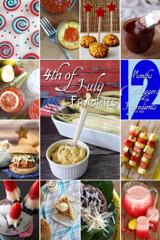 4th of July Picnic Favorites from #12bloggers