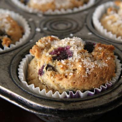 Gluten Free – Vegan Blueberry Muffins