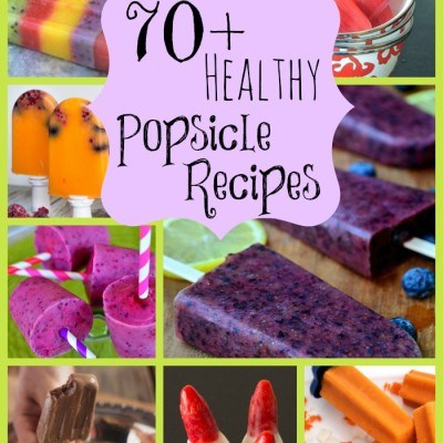 70+ Healthy Popsicle Recipes
