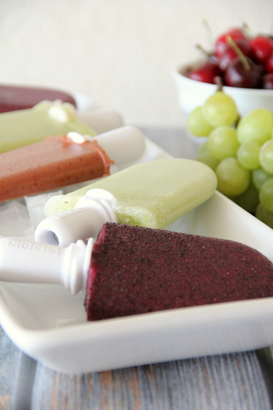 Easy Fruit Popsicles