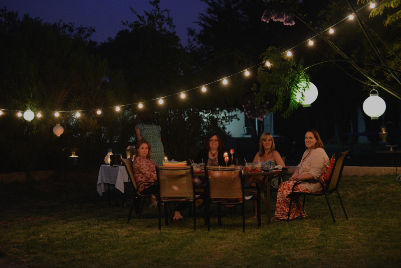 Summer Outdoor Oasis Party & Menu