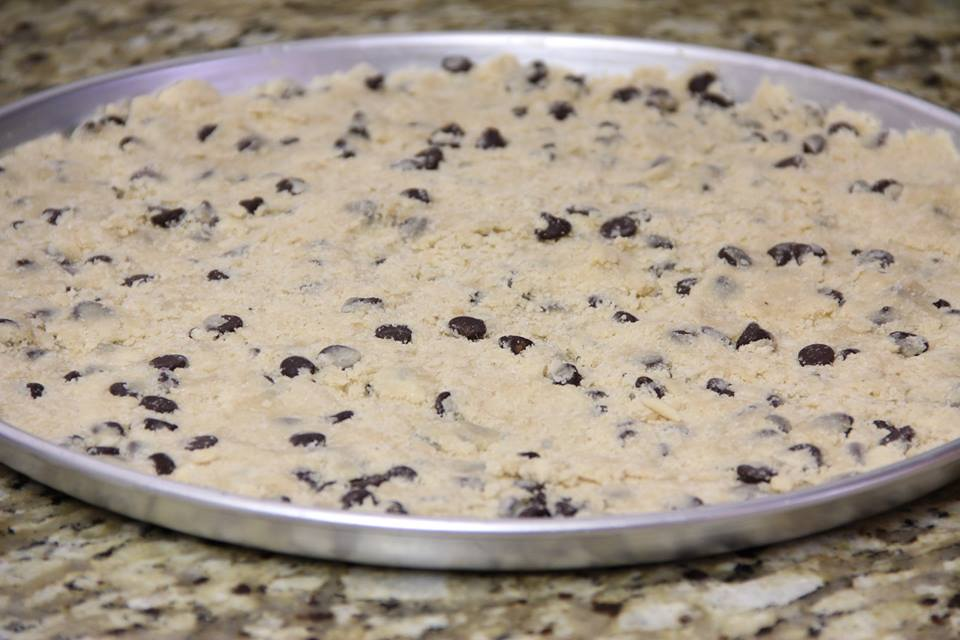 Giant Patriotic Chocolate Chip Cookie - Around My Family Table