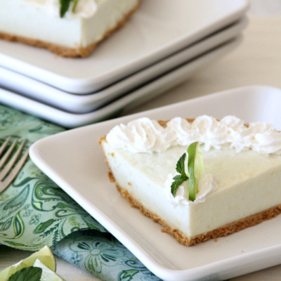 Lime Mint Frozen Dessert