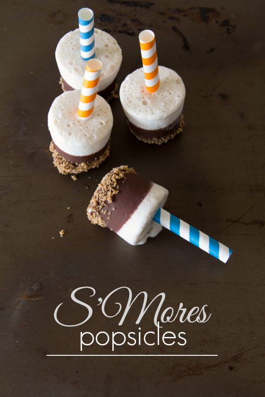 S'Mores Popsicles {so easy and delicious, plus they are gluten free and dairy free}