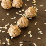 No-Bake Almond Protein Bites
