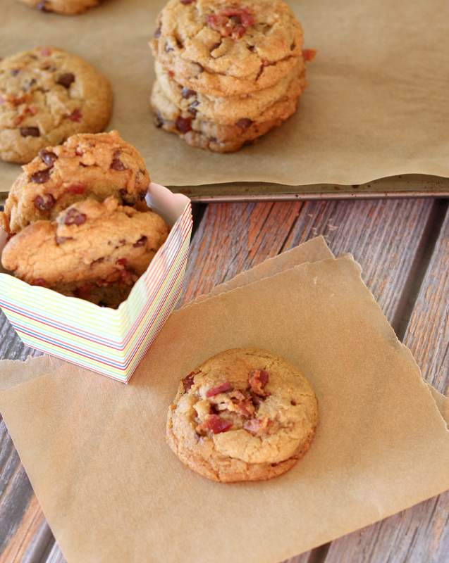 Bacon & Chocolate Chip Cookies - Around My Family Table