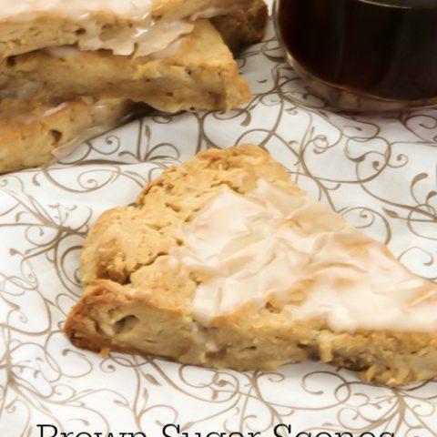 Brown Sugar Scones | Gluten Free, Dairy Free