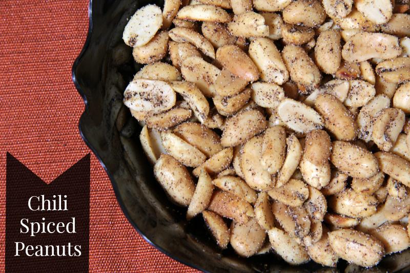Chili Spiced Peanuts