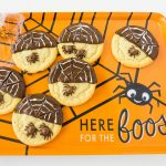 Spider Web Halloween Cookies