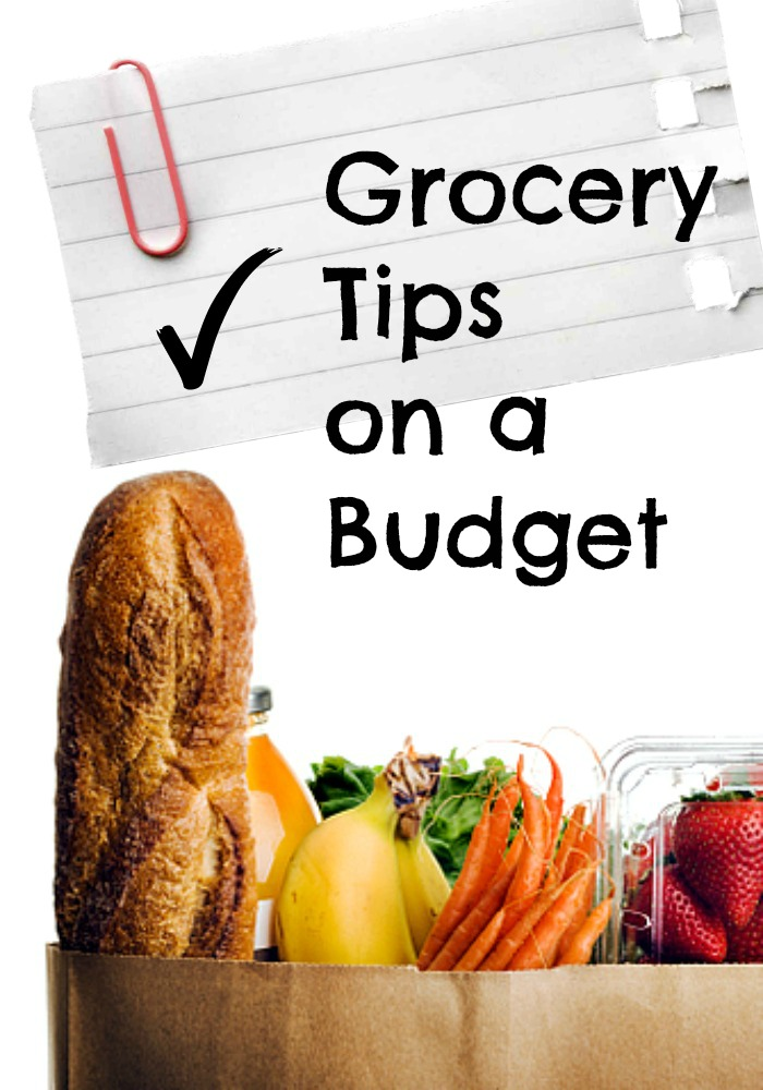 There's more to saving money at the grocery store than just using coupons.  I'm sharing my tips for shopping for Groceries on a Budget.  Keep reading to save on groceries besides cutting coupons and not shopping while hungry.