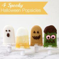 Halloween Popsicles