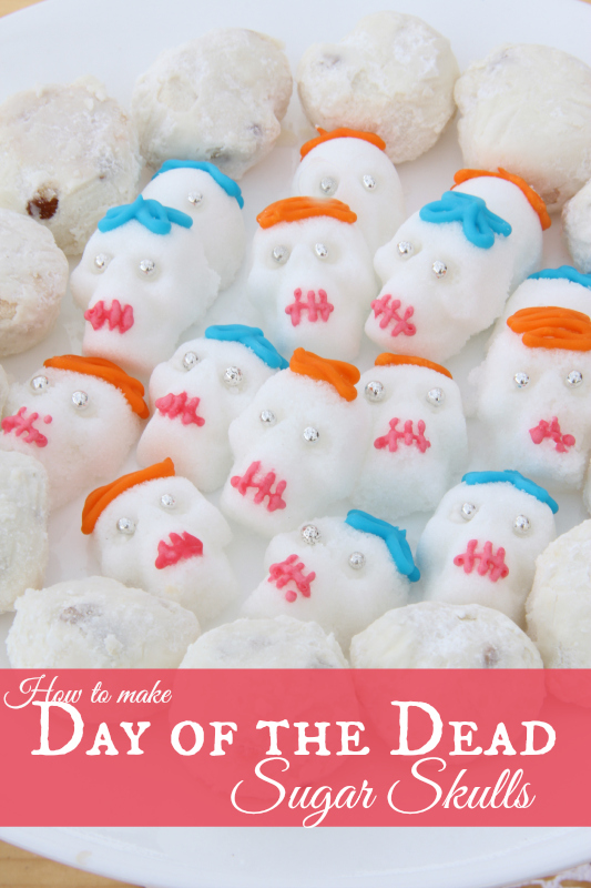 How to make Sugar Skulls for a Day of the Dead Party
