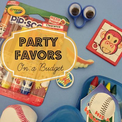Party Favors on a Budget