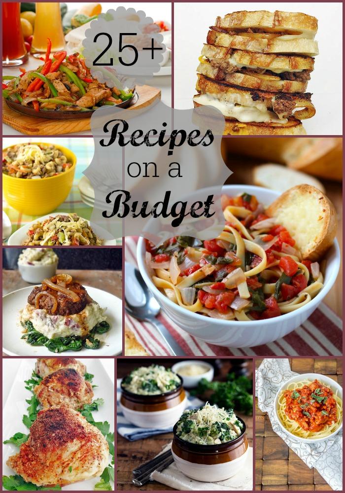 Recipes on a Budget