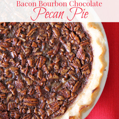 chocolate bourbon pecan pie chocolate around my family table 12041