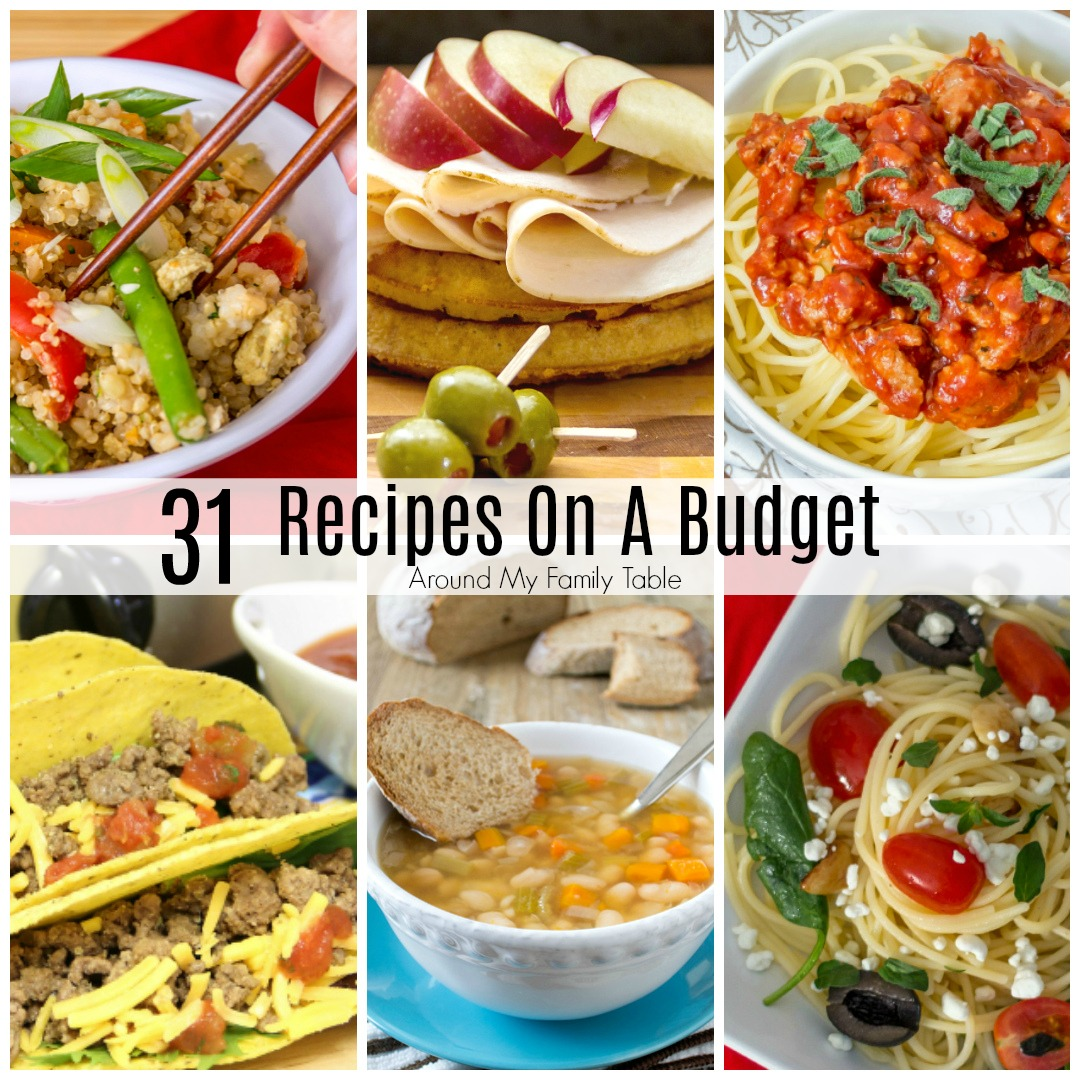 Recipes on a budget around my family table forumfinder Gallery