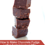 How to Make Chocolate Fudge without Sweetened Condensed Milk