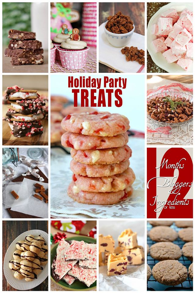 12 Delicious Holiday Party Treats