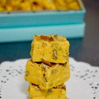 Pecan Pumpkin Pie Fudge
