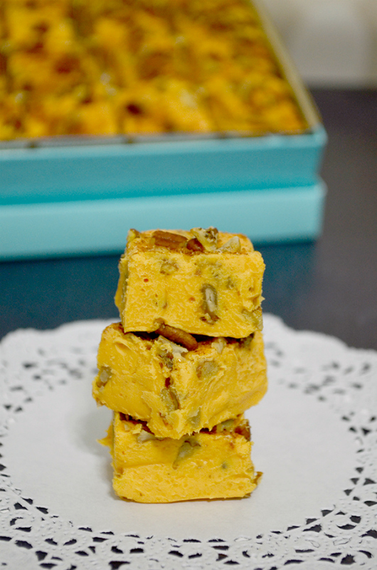 Pecan Pumpkin Pie Fudge Recipe