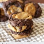 Gluten Free Chocolate & Chocolate Chip Swirl Cookies