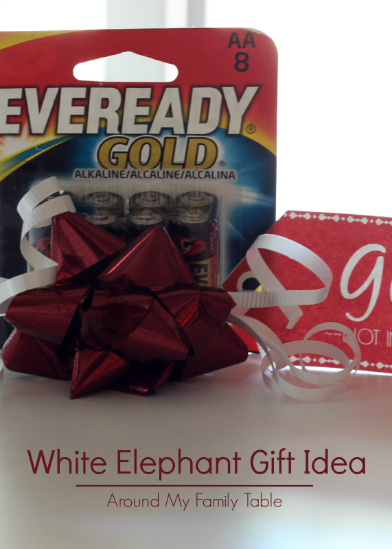 picture about Gift Not Included Printable identified as White Elephant Reward Principle Free of charge Printable - Close to My Relatives