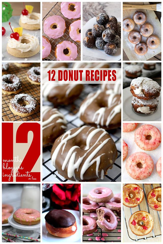 12 Scrumptious Donut Recipes