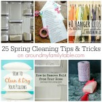 25 Spring Cleaning Tips & Tricks SQUARE