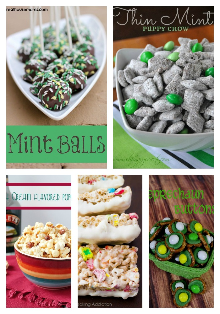 25 St. Patrick's Day Desserts on Around My Family Table