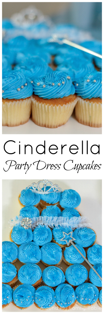 Cinderella Party Dress Cupcakes