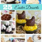 25 Beautiful Easter Desserts