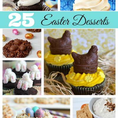 25 Beautiful Easter Desserts