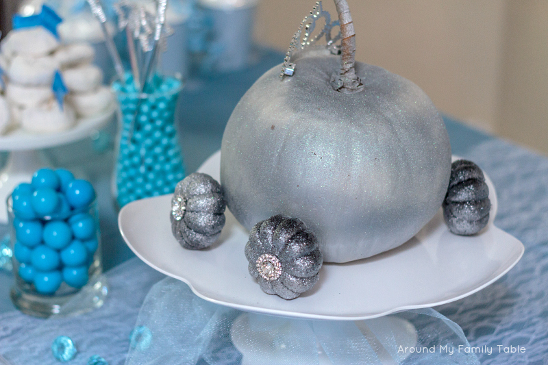 Cinderella Theme Party Around My Family Table