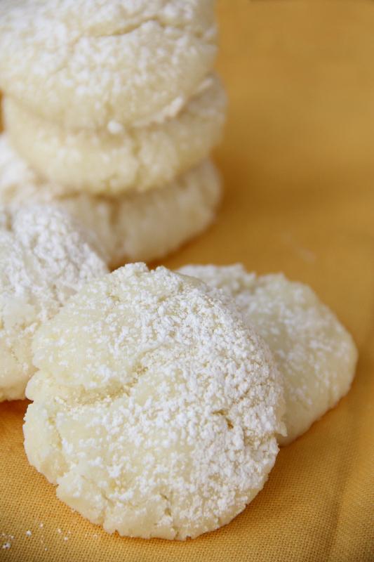 Gluten Free Lemon Sugar Cookies - Around My Family Table