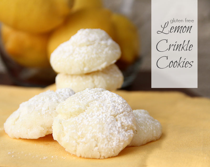 Gluten Free Lemon Sugar Cookies