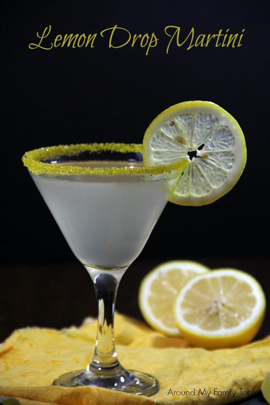 Easy Lemon Drop Martini