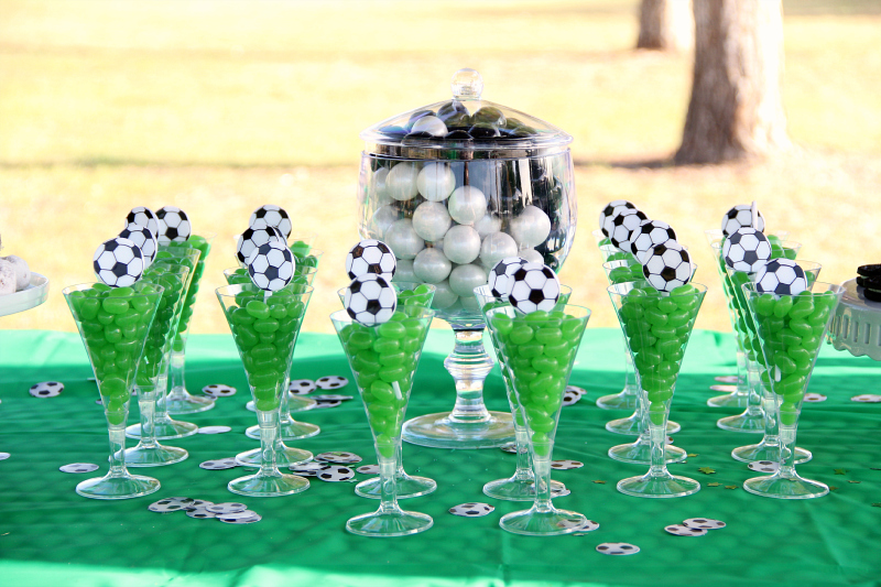 Soccer Theme Party Ideas - Around My Family Table