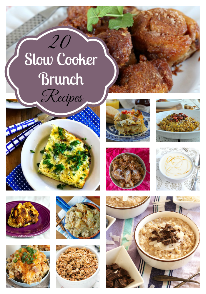 You'll love these delicious Slow Cooker Brunch Recipes! They are perfect for a lazy weekend, potlucks, and of course, holidays.